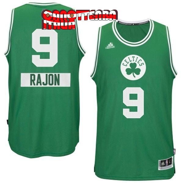 Maglia NBA Boston Celtics 2014 Natale NO.0 Damian Nero Economico