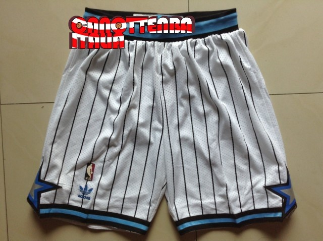 Pantaloni Basket Orlando Magic Bianco Striscia Economico